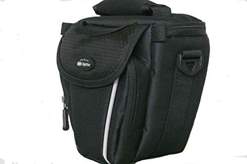 Colt Kameratasche schwarz für DSLR oder Bridgekameras passend z. B. für Canon Powershot SX420HS SX540HS --- Nikon Coolpix B500 B600 B700 weitere Kameras siehe Produktbeschreibung