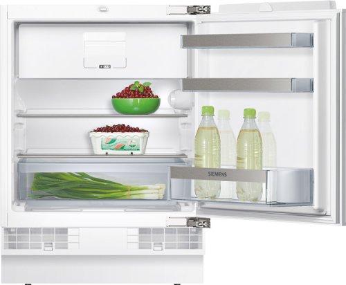 Siemens KU15LA60 iQ500 Kühlschrank / A++ / 82 cm Höhe / 140 kWh/Jahr / 116 L Kühlteil / 15 L Gefrierteil / safetyGlas / weiß / Flachschanier