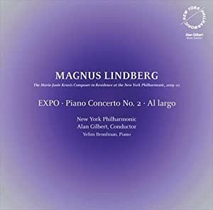 Linberg: Expo [Yefim Bronfman, New York Philharmonic, Alan Gilbert] [Dacapo: 8226076]