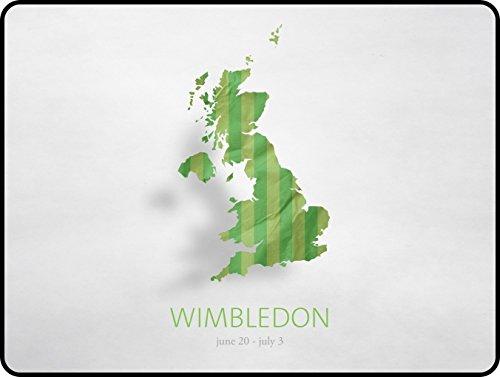 Preisvergleich Produktbild Tennis Roger Federer Andy Murray Wimbledon Rafael Nadal Novak Djokovic SW19Grand Slam ATP Maus Pad 300x 250x 3mm (30x 25x 0,3cm)-STILVOLL, haltbar Office Zubehör und Geschenk