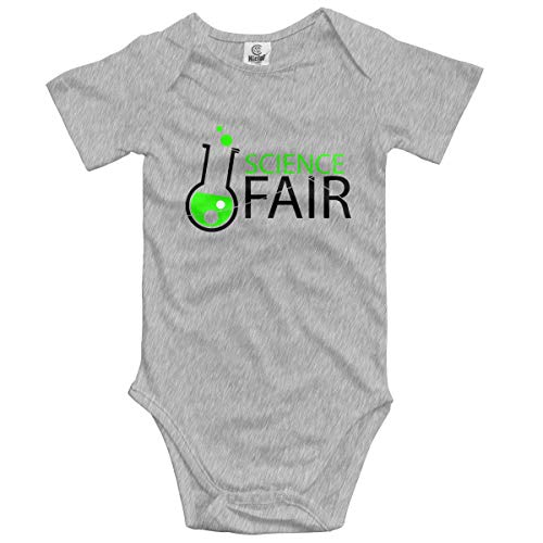 Daisy Evans Baby Climbing Clothes Set Science Fair Bodysuits Romper Short Sleeved Light Onesies,18M
