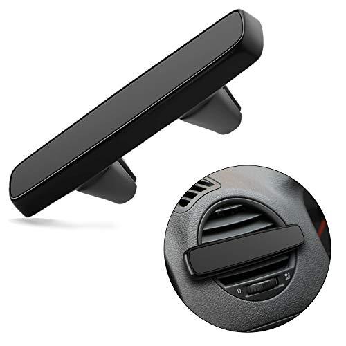 Ecotal Auto Handyhalterung mit Magnet für die Lüftung, extra stark magnetisch, passt universell für nahezu alle KFZ Lüftungsschlitze und Smartphones (Schwarz)