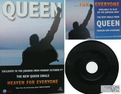 QUEEN- HEAVEN FOR EVERYONE -JUKEBOX 7