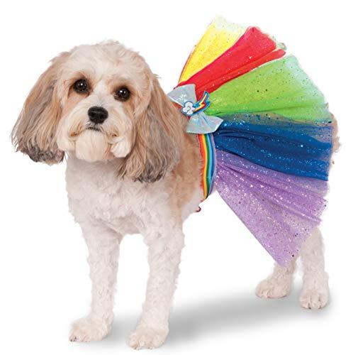 Rubies Costume My Little Pony Rainbow Dash Tutu Pet Kostüm (My Pony-tutu Little)