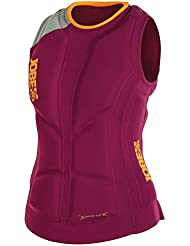 Jobe mujeres de calor seco Comp chaleco, mujer, Heat Dry Comp, rojo, XS