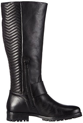 Aldo Acca, Stivaletti Donna Nero (Schwarz (Black Leather 97))