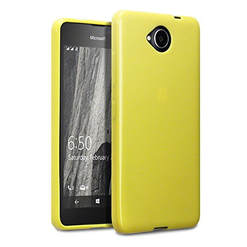 Lumia 650 Schutzhülle, Terrapin TPU Schutzhülle Tasche Case Cover für Microsoft Lumia 650 Hülle Gelb