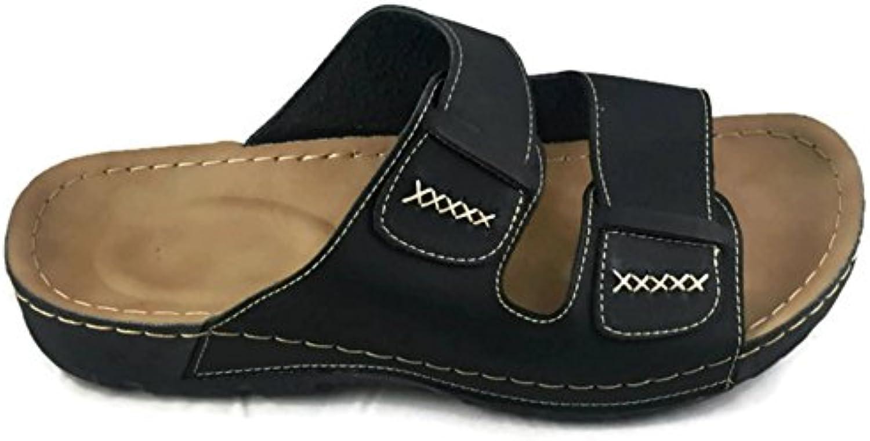 4 Smarts Herren Sandalen Schwarz Schwarz4 Smarts Herren Sandalen Schwarz Größe Billig und erschwinglich Im Verkauf