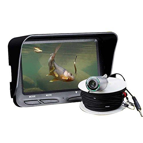 Zanteca - Detector de peces de visión nocturna de alta definición, cámara impermeable para caza de peces