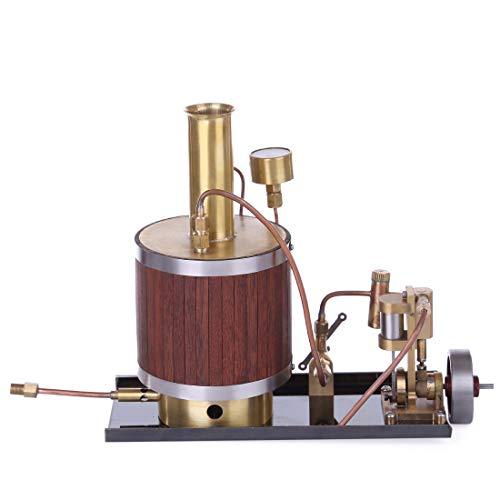 TETAKE Dampfmaschine Bausatz Generator Motor Modell Steam Engine mit Boiler und Base für Kinder Erwachsene