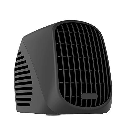 COMLIFE Calefactor Eléctrico Cerámico 1200W / 600W con Termostato Oscilación Automática de...