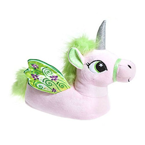 b5ee655de Girls Novelty 3D Character Plush Magical Winged Unicorn Slippers (6.5/7.5,  Pink) - Buy Online in UAE.   Apparel Products in the UAE - See Prices, ...