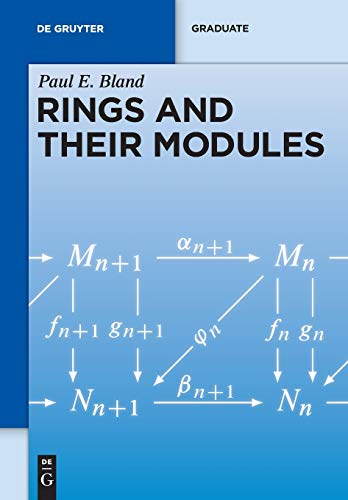Rings and Their Modules (De Gruyter Textbook)