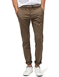 TOM TAILOR Herren Hose Chino W/ Belt