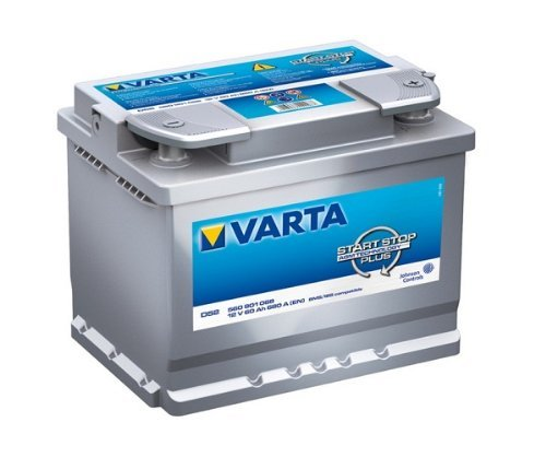 Preisvergleich Produktbild Varta Start-Stop Silver Dynamic AGM 560 901 068 D52 12V 60Ah 680A/EN Starterbatterie