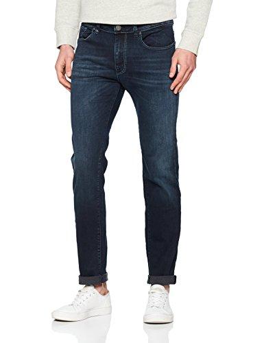SELECTED HOMME Herren Slim Shnslim-Leon 6110 D. Blue ST Jeans Sts, Blau (Dark Blue Denim Dark Blue Denim), W31/L32(Herstellergröße: 31)
