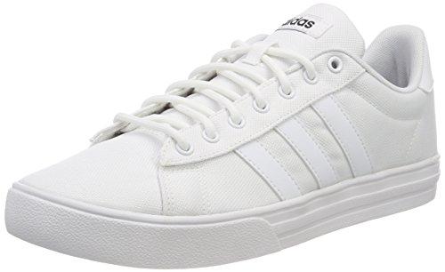adidas Herren Daily 2.0 Gymnastikschuhe, Elfenbein FTWR White/core Black, 44 EU