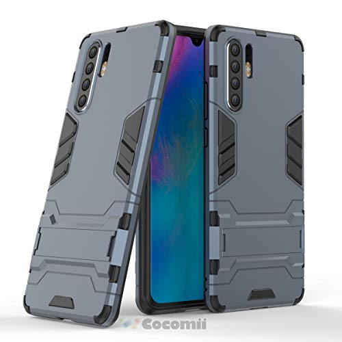 Cocomii Iron Man Armor Huawei P30 Pro Hülle NEU [Strapazierfähig] Erstklassig Taktisch Griff Ständer Stoßfest Gehäuse [Militärisch Verteidiger] Ganzkörper Case Schutzhülle for Huawei P30 Pro (I.Black)