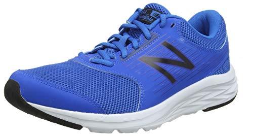 New Balance M411v1, Zapatillas de Running para Hombre, Azul (Team Royal/White/Black Lr1), 44 EU