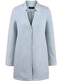 d7ceacf0fc08 Vero Moda Mania Manteau De Laine Veste Longue d hiver Parka pour Femme avec  Col