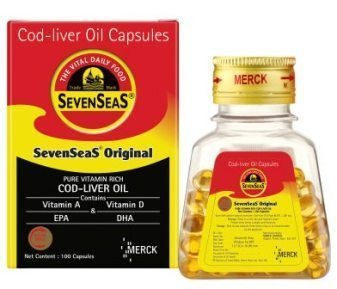Seven Seas Cod Liver Oil Capsules (Pack of 2)