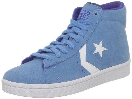 Converse Pro Lea Sue Mid, Baskets mode mixte adulte Bleu (Bleu d'Eau/Blanc)