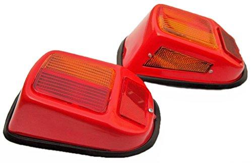 Bajato Traktor Vorder Blinker Licht Set - Vintage (lh-RH) Da-lite 49