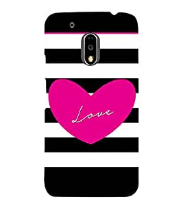 ifasho Designer Back Case Cover for Motorola Moto G4 Plus (Love Design Love Birds Love Express Perfume Love Key Chains)