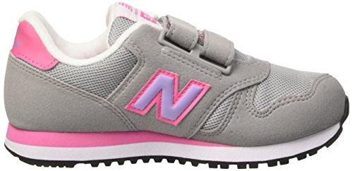 New Balance Nbkv373flp, gymnastique mixte adulte Jaune (Grey Pink)