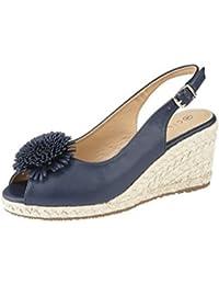 391958721 Cipriata Ladies Alessandra  Wedge Heel Peep Toe Sandal