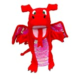 Tellatale Red Dragon Hand Puppet