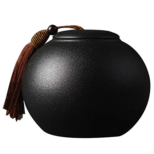 Teedose aus Keramik, Teedose/Teedose/Kaffeedose/Zuckerstangen/Teekanne/Teeset, Keramik, Storage Jar B, Einheitsgröße