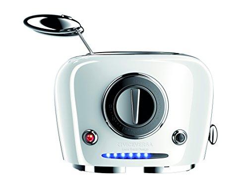 Vice Versa Designtoaster,TIX Sandwichtoaster,Toaster, Farbe weiß