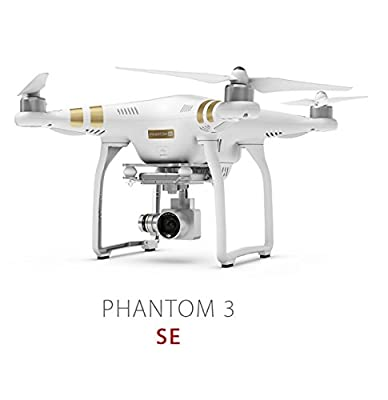 DJI Phantom 3 SE Video Camera Drone With 4K HD Camera & Gimbal RC Quadcopter-Classic Phantom 3 Model Continuing