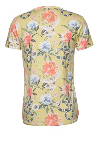 Tigha Herren T-Shirt Christian Gelb XL (Christian Polo-shirts)
