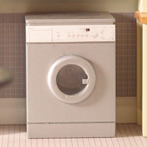Le Dolls House Emporium « argent » Machine à laver