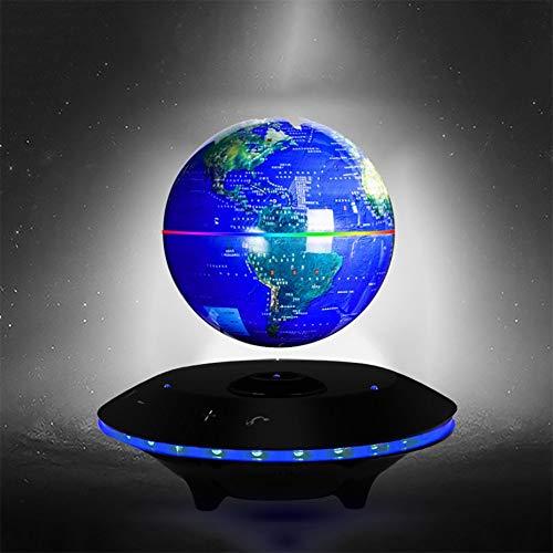 Pallone magnetico che fa galleggiare la sfera magnetica di levitazione magnetica con l'altoparlante di bluetooth mappa di mondo senza fili ricaricabile con le luci del led per insegnare a insegnare