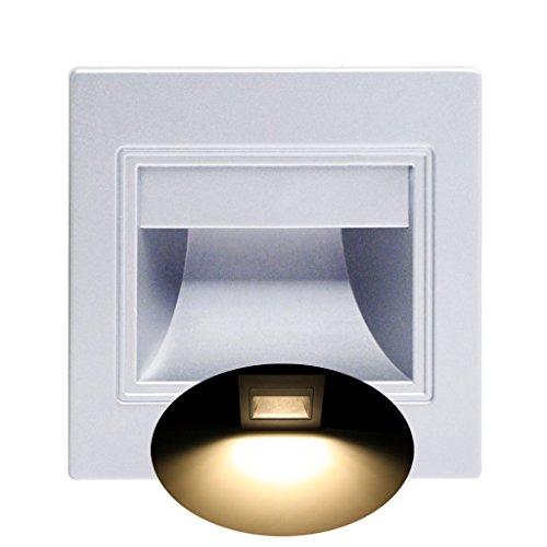 liliWLL 1,5 W LED Einbauleuchte Pathway Path Treppenstufe Wand Garten Indoor Outdoor Lampe -