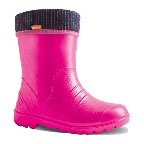 demar. children's Eva rubber boots, lightweight, lined, Dino