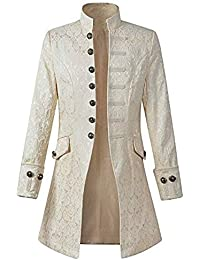 52bac51746ec CICIYONER ❤Herren Party Oberbekleidung❤ Print Mantel❤ Frack Jacke Gothic  Gehrock Uniform ...