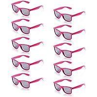 7ec02981ec11fa ONNEA 10 Paare Party Favors Sonnenbrille Set Sommer Kinder Damen