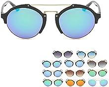 QHGstore Unisex medio cap?ªtulo de la concha al aire libre Deportes Viajes Eyewear marco de la PC de la obra cl?¢sica mujeres de los hombres gafas de sol