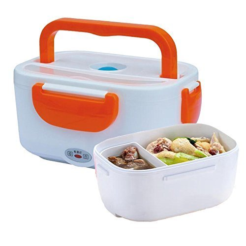 Cherry Multi Function Electric 40W 1.5L Heated Portable Lunch Dabba Electric food Warmer Box Tiffin (Colour May Vary)