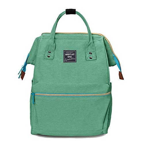 Lantch Laptop Rucksack Damen Schule Bag Unisex Schultasche Lässiger Daypacks Business Rucksack(LGR)