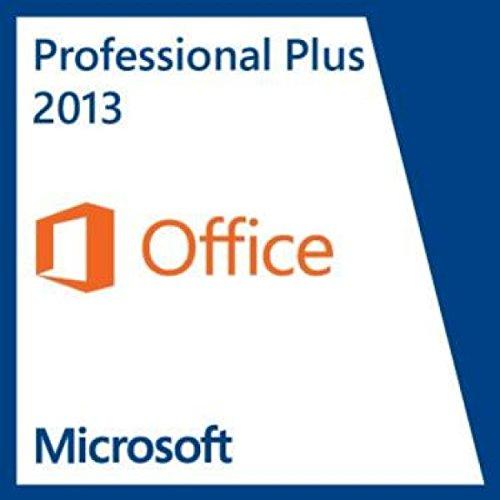 Office Microsoft Für Max (Microsoft Office Professional plus 2013 OEM Key - Original Lizenz Vollversion - NEU)
