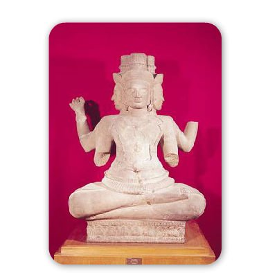 sculpture-of-brahma-with-four-faces-from-mousepad-natrliche-gummimatten-bester-qualitt-mouse-mat