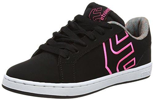 Etnies Fader Ls, Chaussures de Skateboard Femme Noir - Black (Black 001)