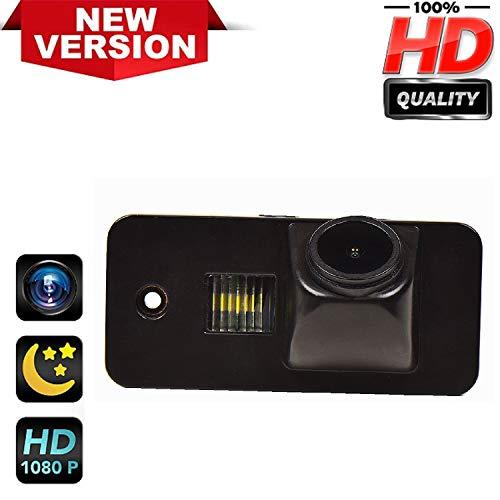 HD 1280x720p Retrocamera 170° Visione Notturna Impermeabile Telecamera posteriori retromarcia Luce Targa Fotocamera per Audi A3 S3 A4 S4 A6 C6 S6 RS6 A8 RS4 TT 8N Q7