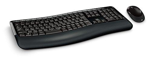 Microsoft Wireless Keyboard + Maus Wireless Comfort Desktop-5000 CSD-00028 (Japan-Import)