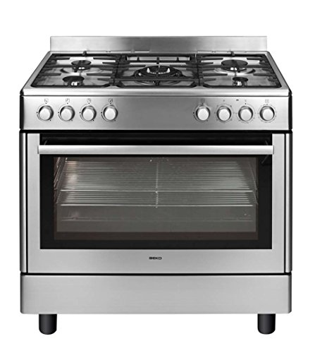 Beko GM15121DX Independiente 104L B Acero inoxidable - Cocina (Independiente, Acero inoxidable,...